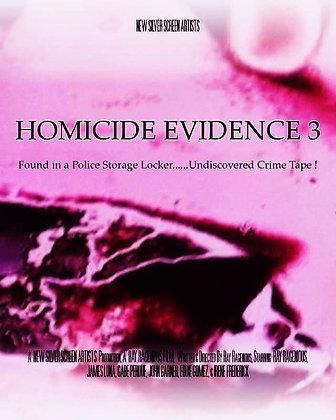 Homicide Evidence 3 - 7 Day Rental