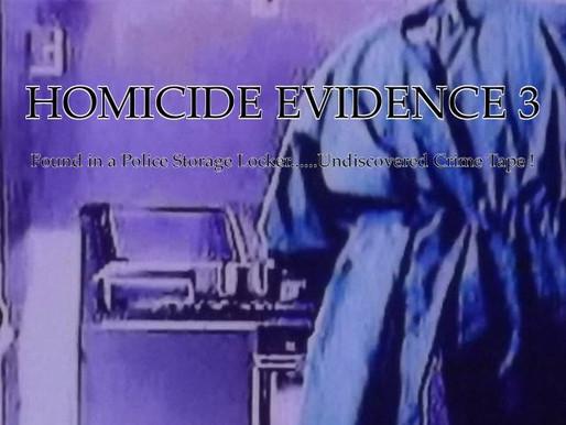 Homicide Evidence 3 indie film