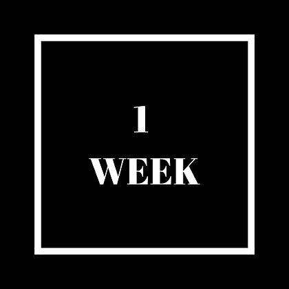 1 Week Queue Jump