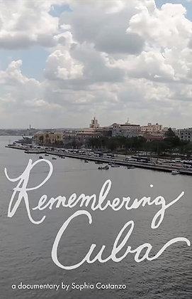 Remembering Cuba - 7 Day Rental