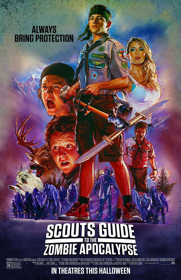 Scouts Guide to the Zombie Apocalypse film review