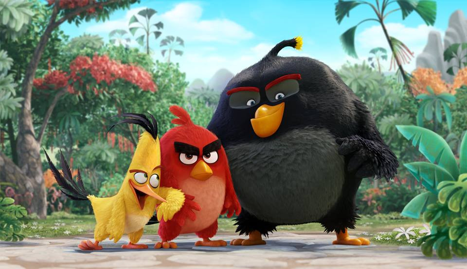 Angry Birds film review UK