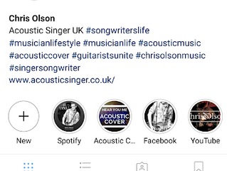 Instagram Stories and sharing acoustic music on Spotify
