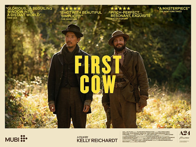 First Cow on Mubi 9th July 2021