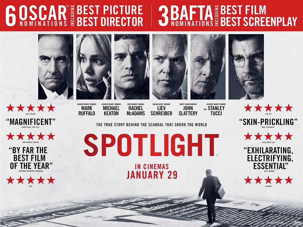 Spotlight UK Film Review