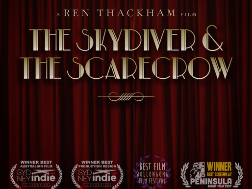 The Skydiver and The Scarecrow short film