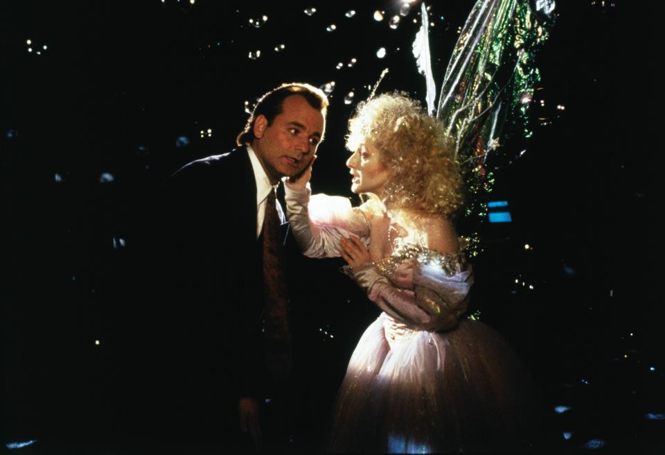 Scrooged film review