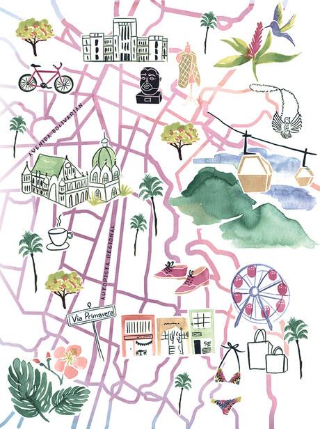 Columbia Map
