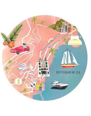 Monte Carlo Map