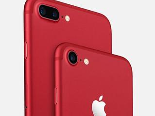 iPhone RED: Compre (RED). Dê vida.