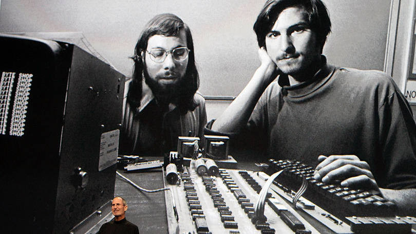 Steve Jobs e Wozniak