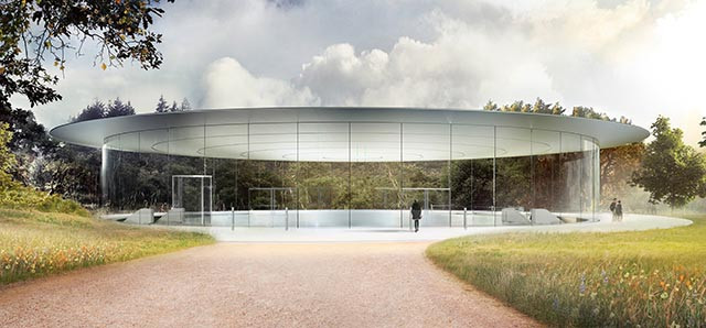 Teatro do Apple Park