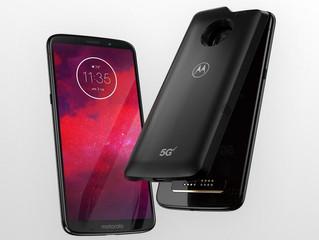 A Motorola diz que tem o primeiro smartphone 5G, e isso só é possível com um módulo à parte