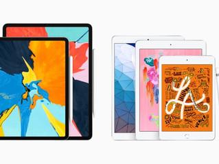 Novos iPad Air e iPad Mini, mais potência e capacidade