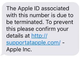 Cuidado com o Apple ID Expiration Scam