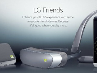 LG começa a vender módulos do G5 em site oficial da linha FRIENDS