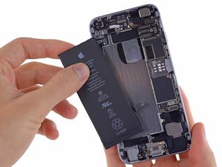 Bateria para iPhone e serviço em até 30 minutos