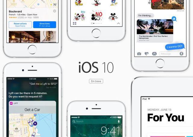Novos recursos do iOS 10