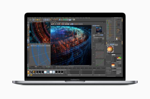 Novos chips garantirãodesempenho gráfico até 60% melhor do que o Radeon Pro 560X do MacBook Pro da geração anterior
