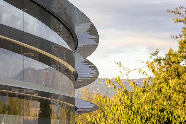 Apple Park perspectiva
