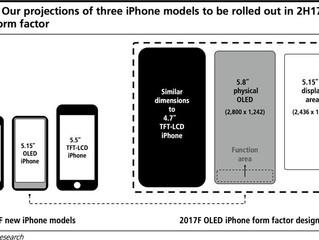 O próximo iPhone pode ter display maior e mais bateria