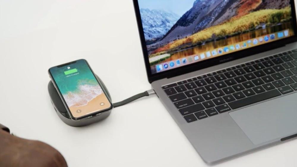 HyperDrive conectado a um notebook da Apple (Foto: Reprodução/HyperDrive)