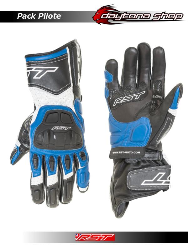 RST R16 - Gants Bleus