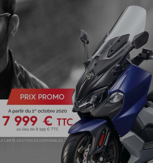 Sym Maxsym TL 500 Promo