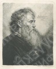 Портрет старика с бородой. Рембрандт.