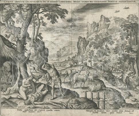 """""""Путь всякого Божьего творения"""" Адам и Ева находят тело убитого Авеля"""