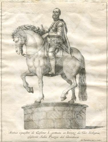 Конная статуя Козимо I. (Statua equestre di Cosimo I)