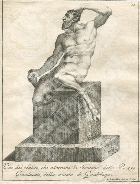 Четыре статуи Сатиров на Площади Синьории