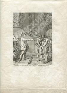 Помилование пленного испанского капитана, доставленного к принцу Оранскому. (Ееп Spaansgezind hopman voor Oranje gebracht)
