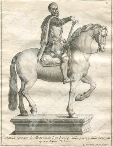 Конная статуя Фердинандо I Медичи, Великого Герцога Тосканского