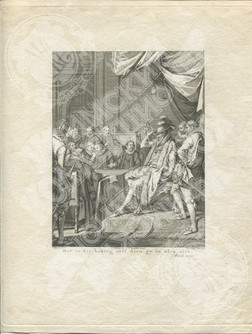 Это самКороль, которого можно увидеть в герцоге Альба. (Het is die koning zelf dien gy in Alva ziet)