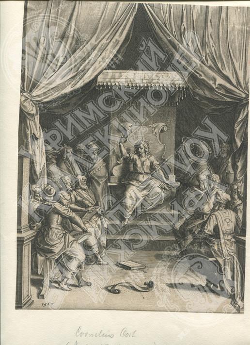 Двенадцатилетний Иисус среди книжников в храме.