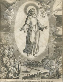 """Святой Франциск из Паолы """"S. Franciscus de Paula"""""""
