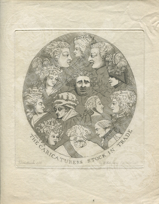 Арсенал средств карикатуриста (The caricaturers stock in trade)
