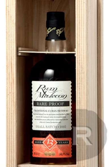Rum Malecon proof 50.5° / 70cl