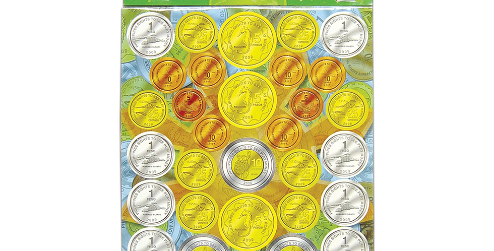 Philippine Play Money Coins only