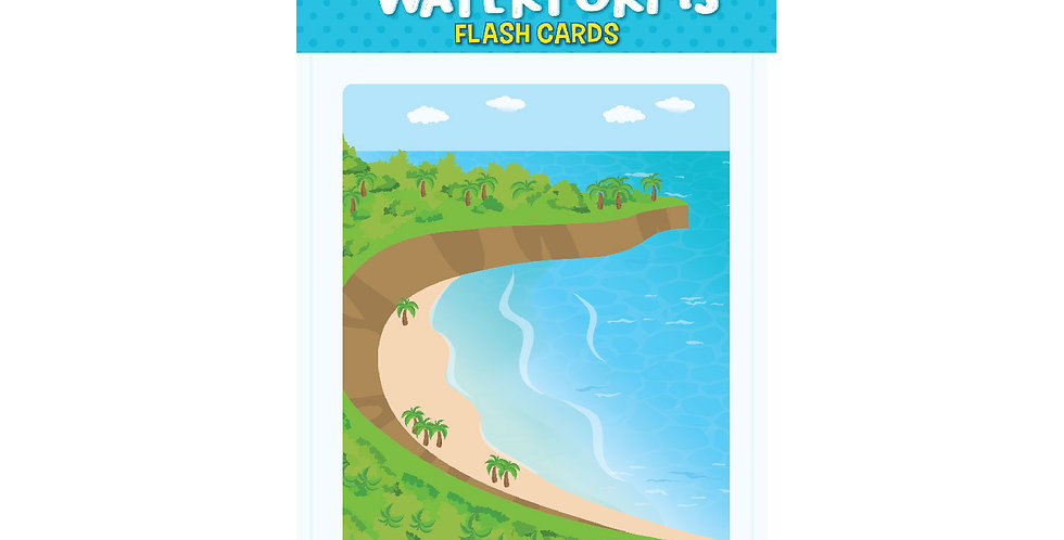 Waterforms Flash Cards