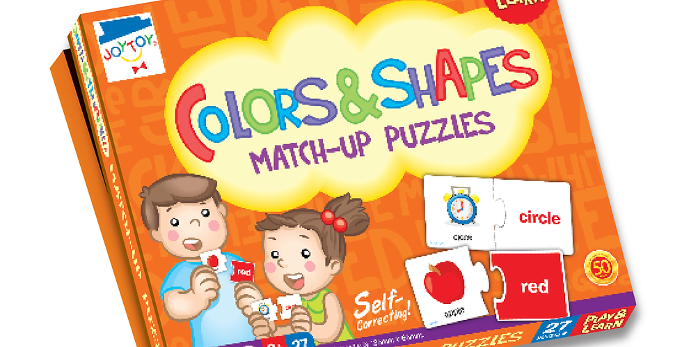 Colors & Shapes Match-up Puzzles