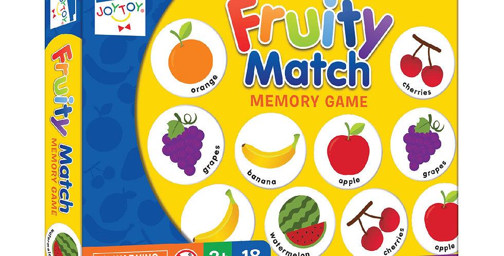 Fruity Match Memory Game