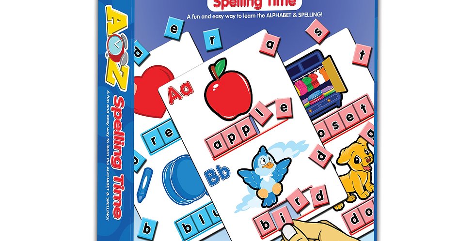 A-Z Spelling Time