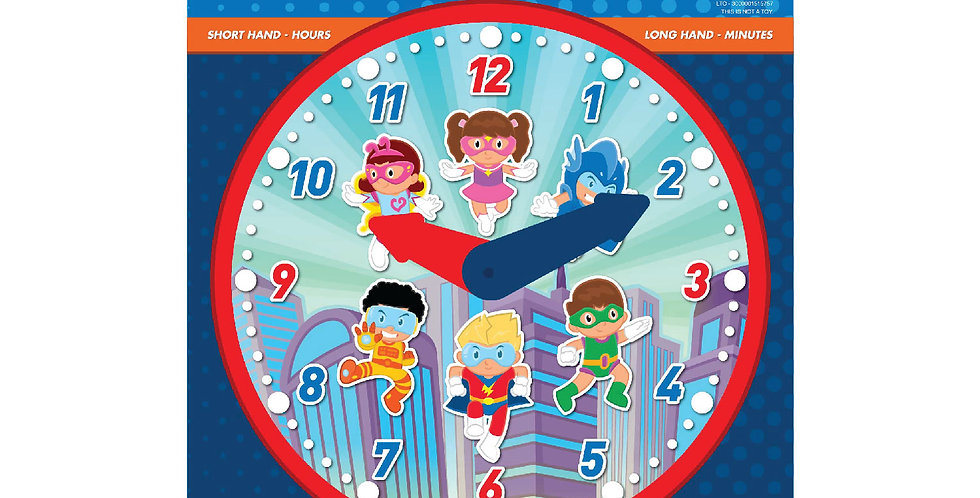 Little Heroes Telling Time