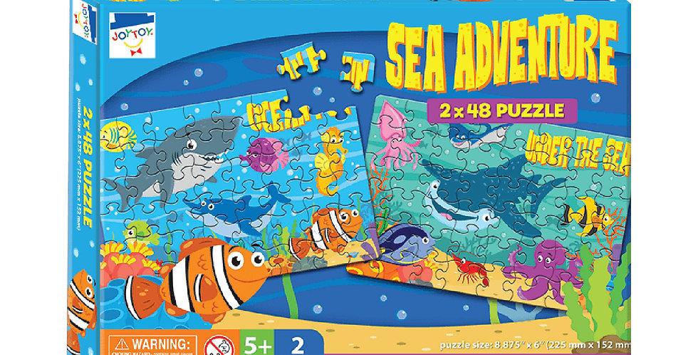 Sea Adventure 2 x 48 Puzzle