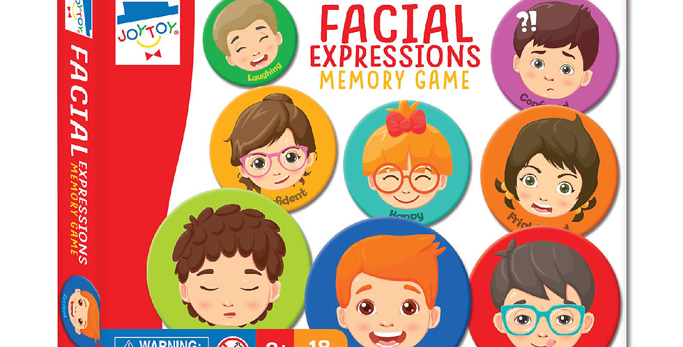 Facial Expressions Memory Game