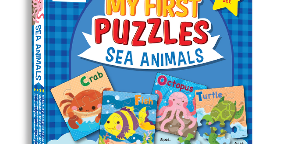 My First Puzzles - Sea Animals