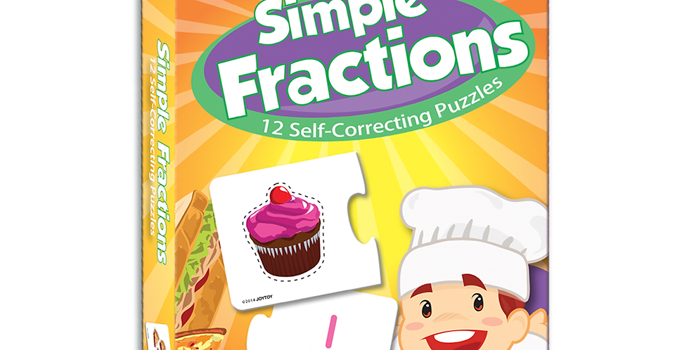 Simple Fraction Self-Correcting Puzzles