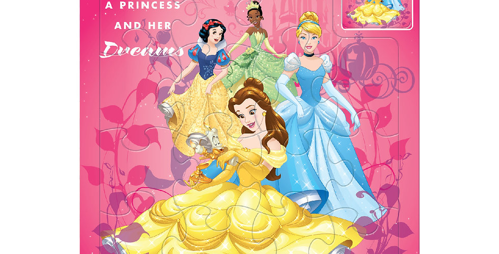 Disney Princess Fun Puzzles